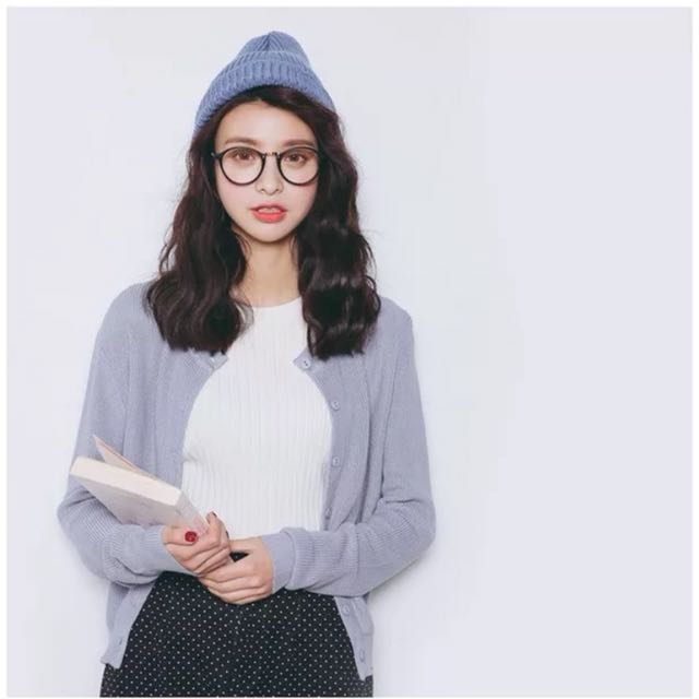 (9 colours) Knitted Cardigan
