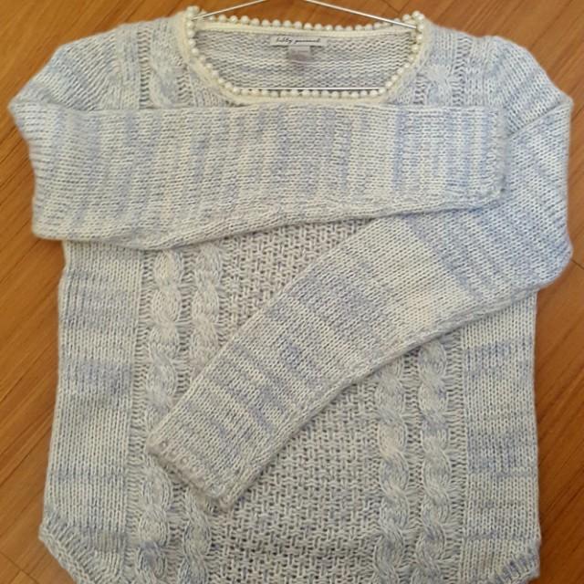 珍珠針織毛衣