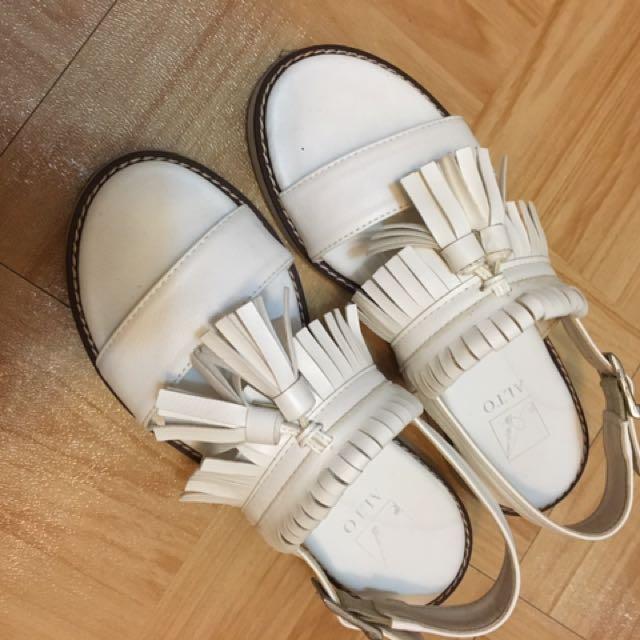 流蘇 涼鞋