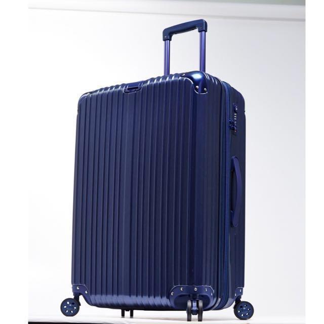 免運費💋夜空星晨 拉絲紋霧面可加大行李箱#幫你省運費