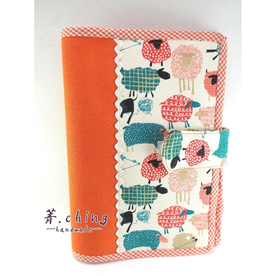 媽媽手冊包 兒童健康手冊包 書衣-純手工製作