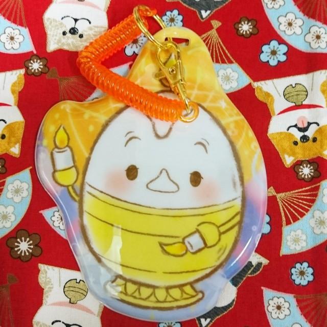 日本 迪士尼商店 蠟燭先生 美女與野獸 票卡夾 票夾
