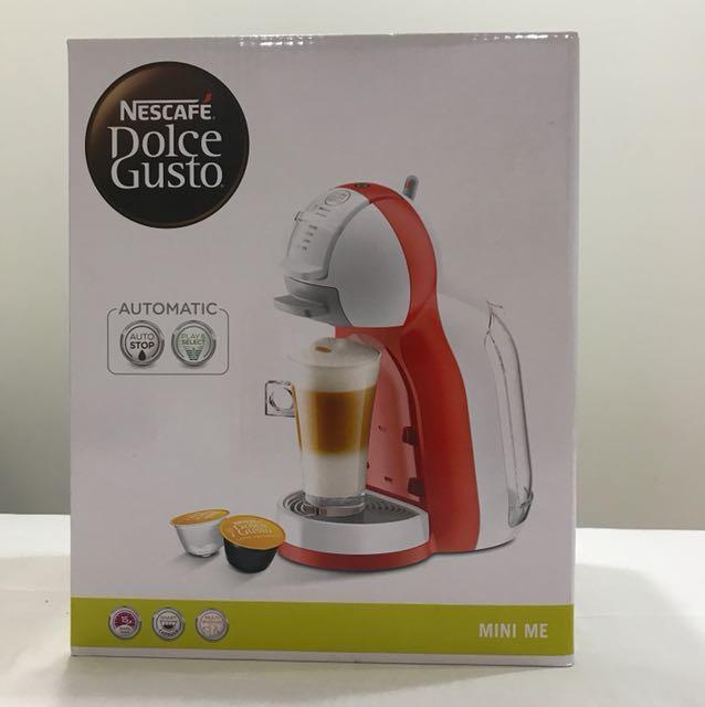 全新品 雀巢咖啡 DLC GST 咖啡機 Mini Me 雲朵白