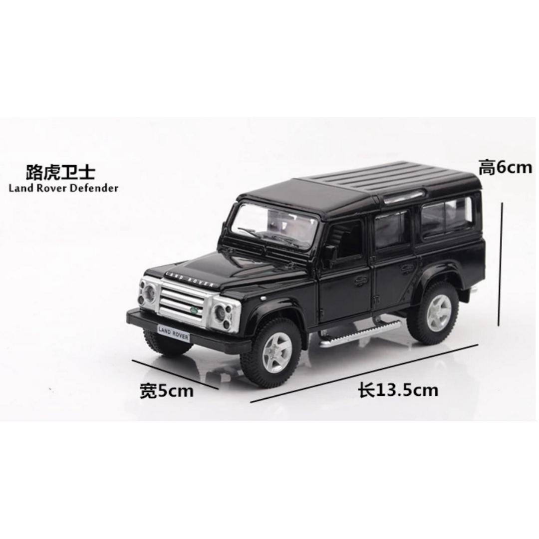 荒原路華 路虎 Land Rover 迴力合金車 黑色 白色 1:36 預購 阿米格Amigo