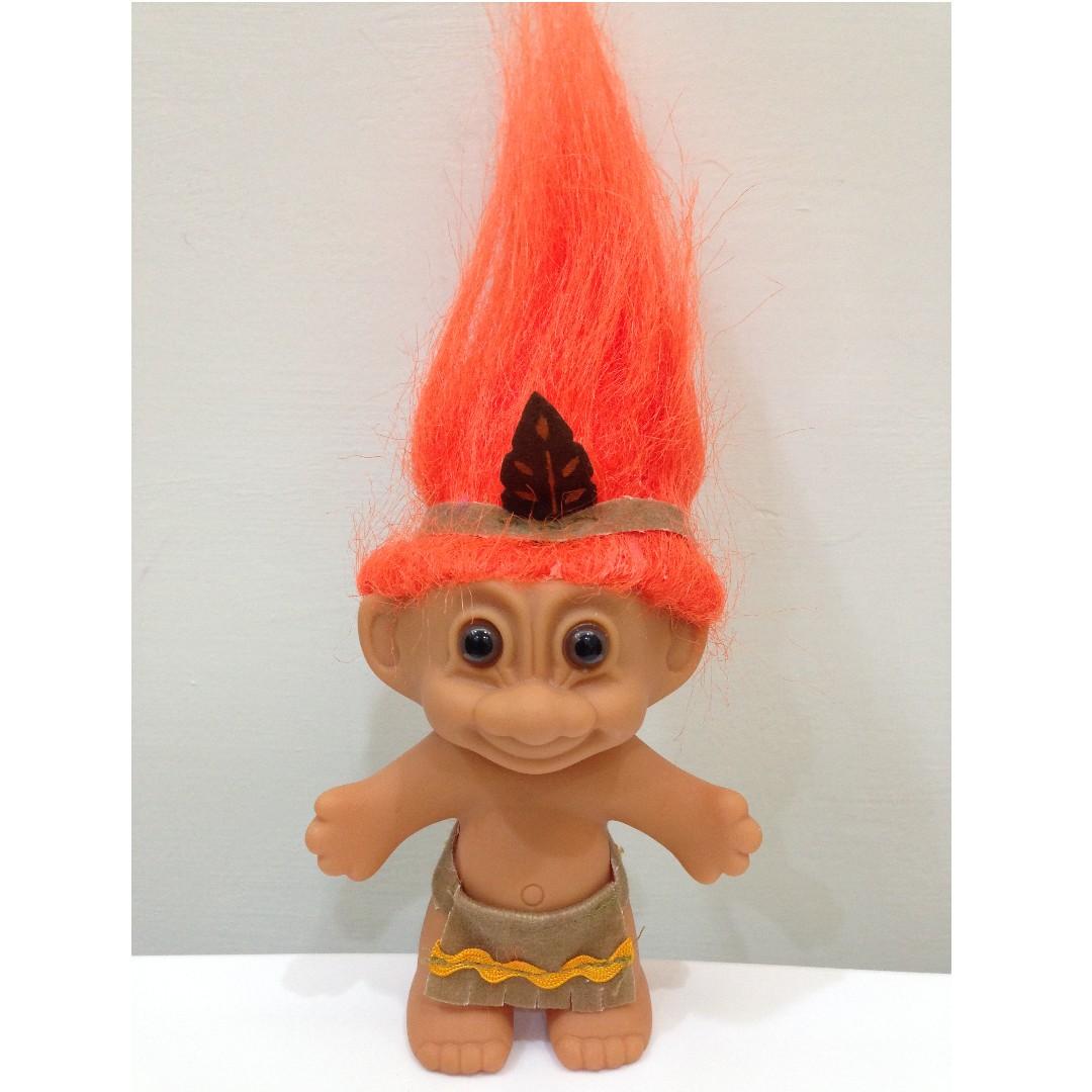 幸運小子 (印地安小弟)醜娃、巨魔娃娃、醜妞、Troll Doll、魔髮精靈