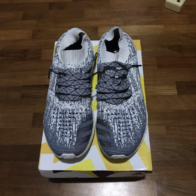 db2c480ff ... where to buy adidas ultra boost uncaged oreo white noise mens fashion  footwear on carousell d3ff7 ...