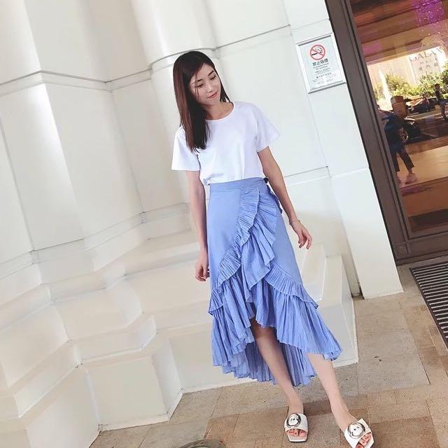 Asymmetrical FishTail skirt