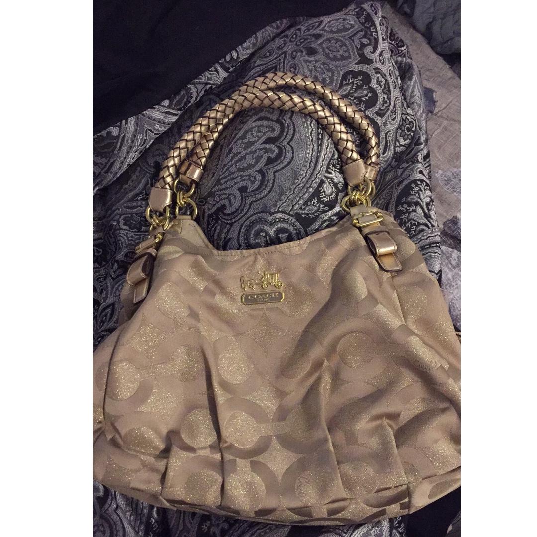 Authentic Coach Madison bag