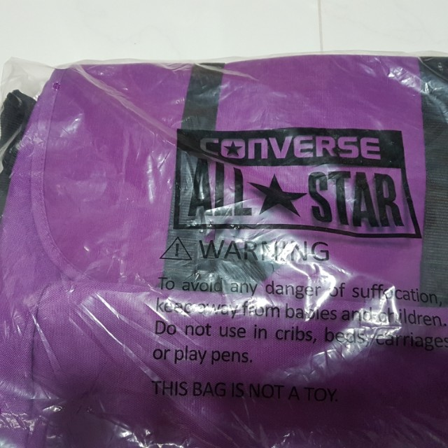 c733de378f Authentic Converse drawstring bag trying to clear everything so yeah ...