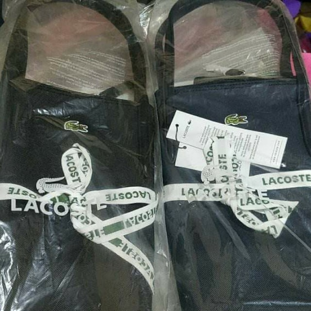Authentic Lacoste Tote Bags