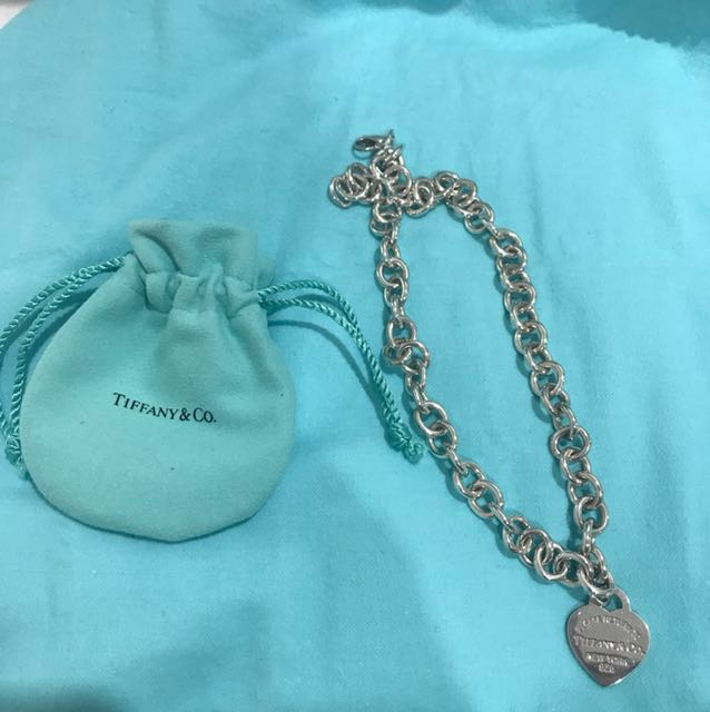 Authentic Tiffany&Co. Heart Tag Necklace