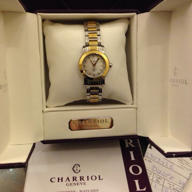 Authentic Watches Charriol
