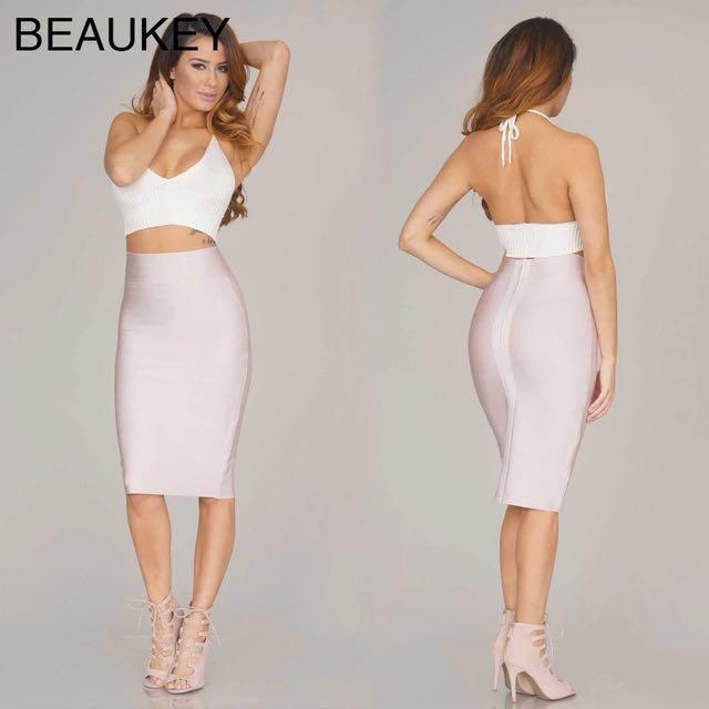 Bandage Pencil Skirt - Size Small ***