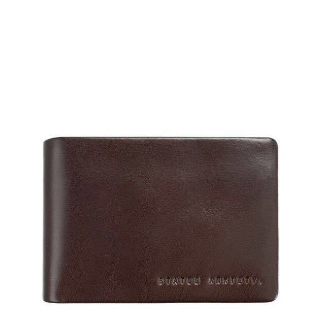 BNIB Status Anxiety Jonah Wallet Chocolate