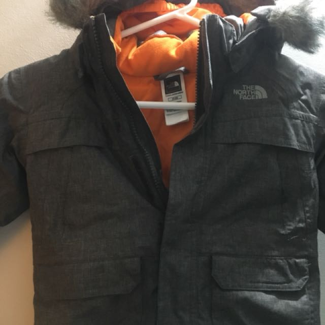 Boys north face size