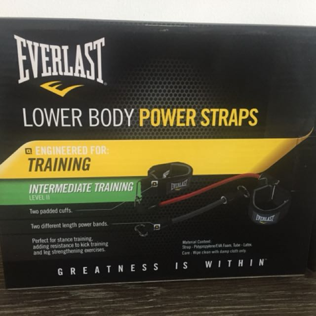 Brand New Resistance Band Power Straps