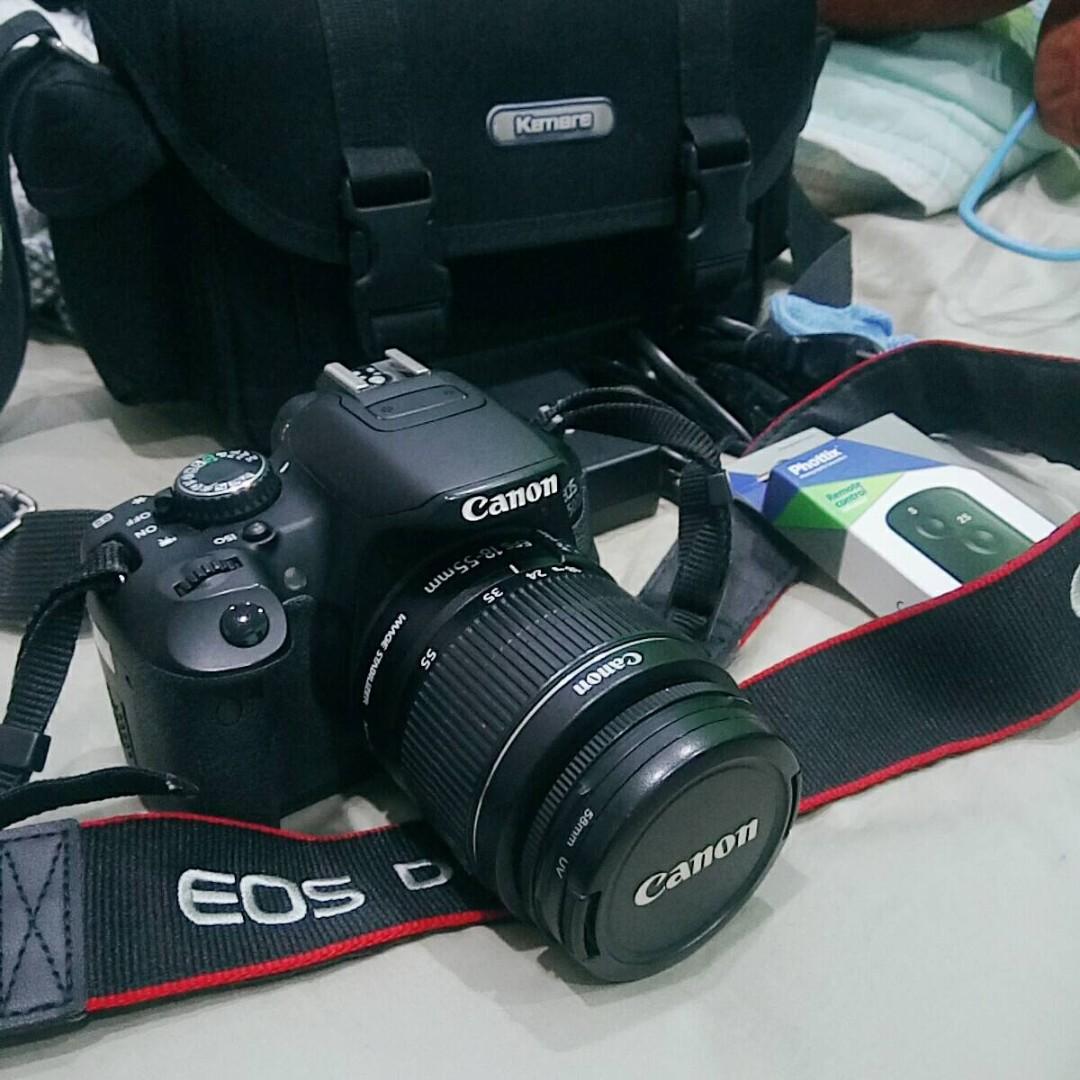 Canon 650D + 18-55mm 全配