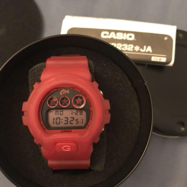 Casio G-shock DW6900CL clot