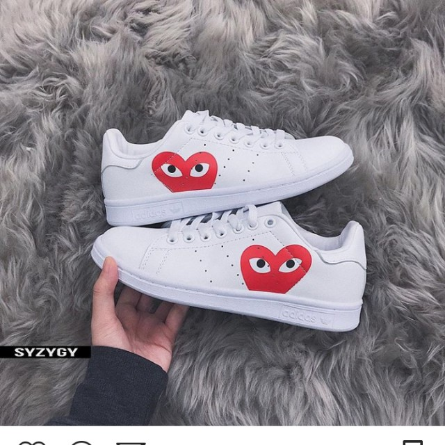 Cdg X Adidas Replica Women S Fashion Shoes On Carousell