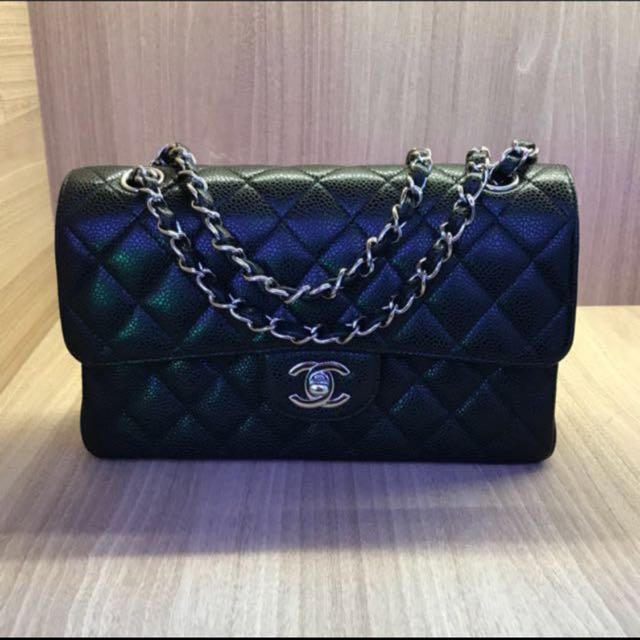 10293c983422ce Chanel classic caviar d/flap 9 inch, Luxury, Bags & Wallets on Carousell