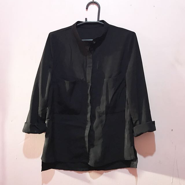 Chinese Collared Buttondown