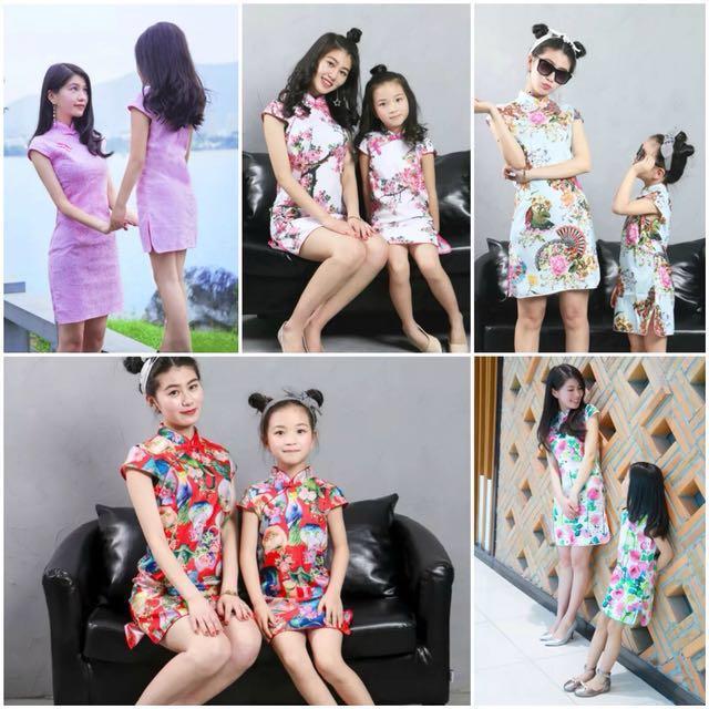 715a022f42 CNY collection cheongsam dress , Women's Fashion, Clothes, Dresses ...