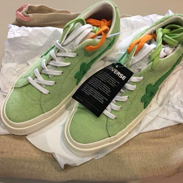 851815bf0860 Converse x Golf Le Fleur - Jade Lime AUTHENTIC UNISEX