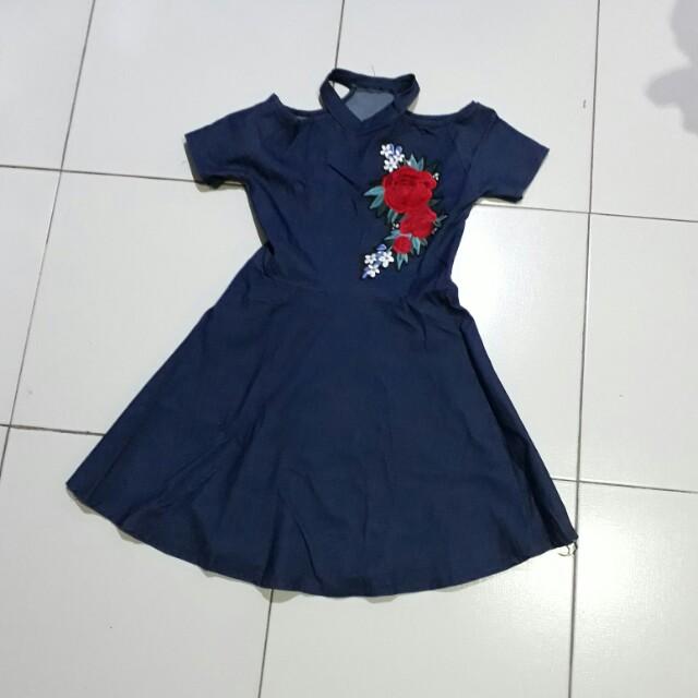 Denim dress