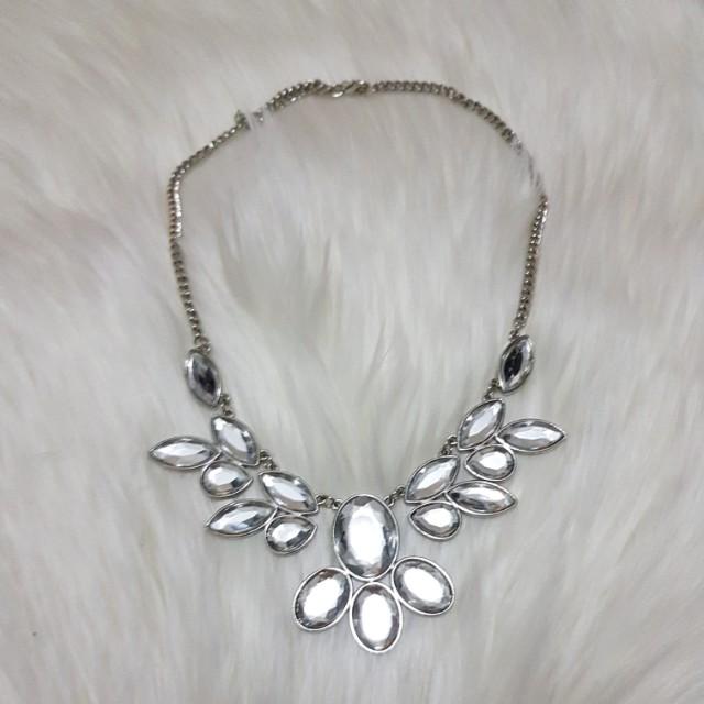 Diamond Statement Piece Necklace