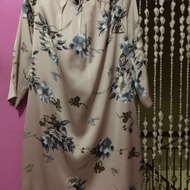Et Cetera Floral Nude Dress