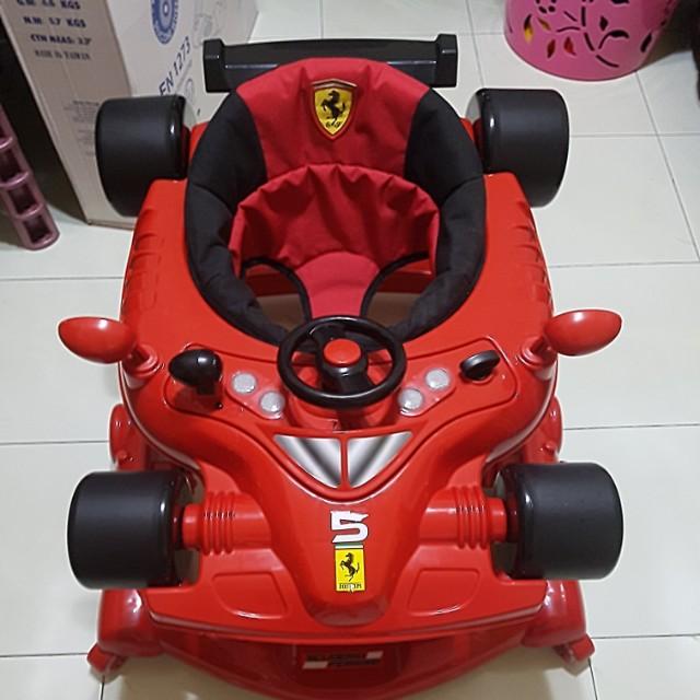 Ferrari Baby Walker Babies Kids Strollers Bags Carriers On