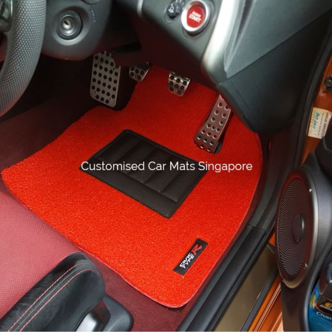 mats customized foot custom car fit toyota carpets prius pin case previa for auto floor