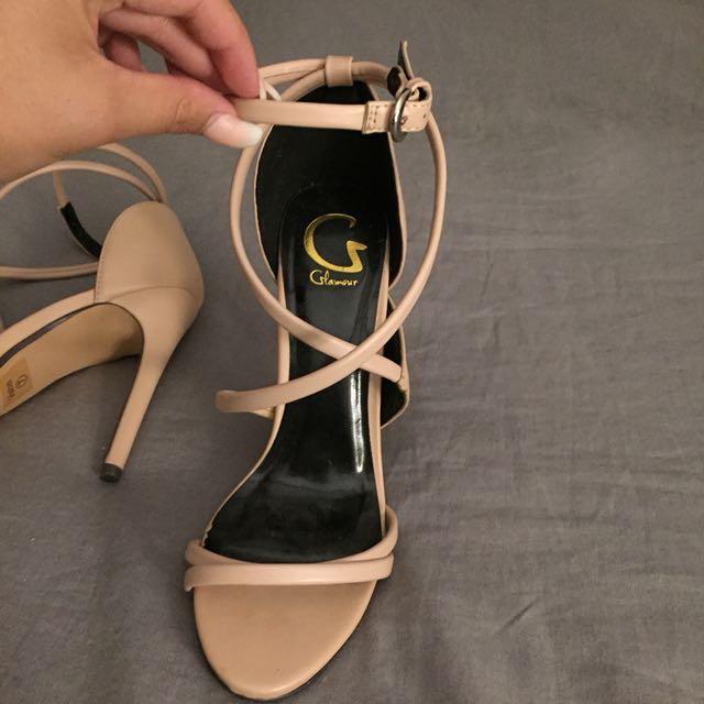Glamour Heels - Nude