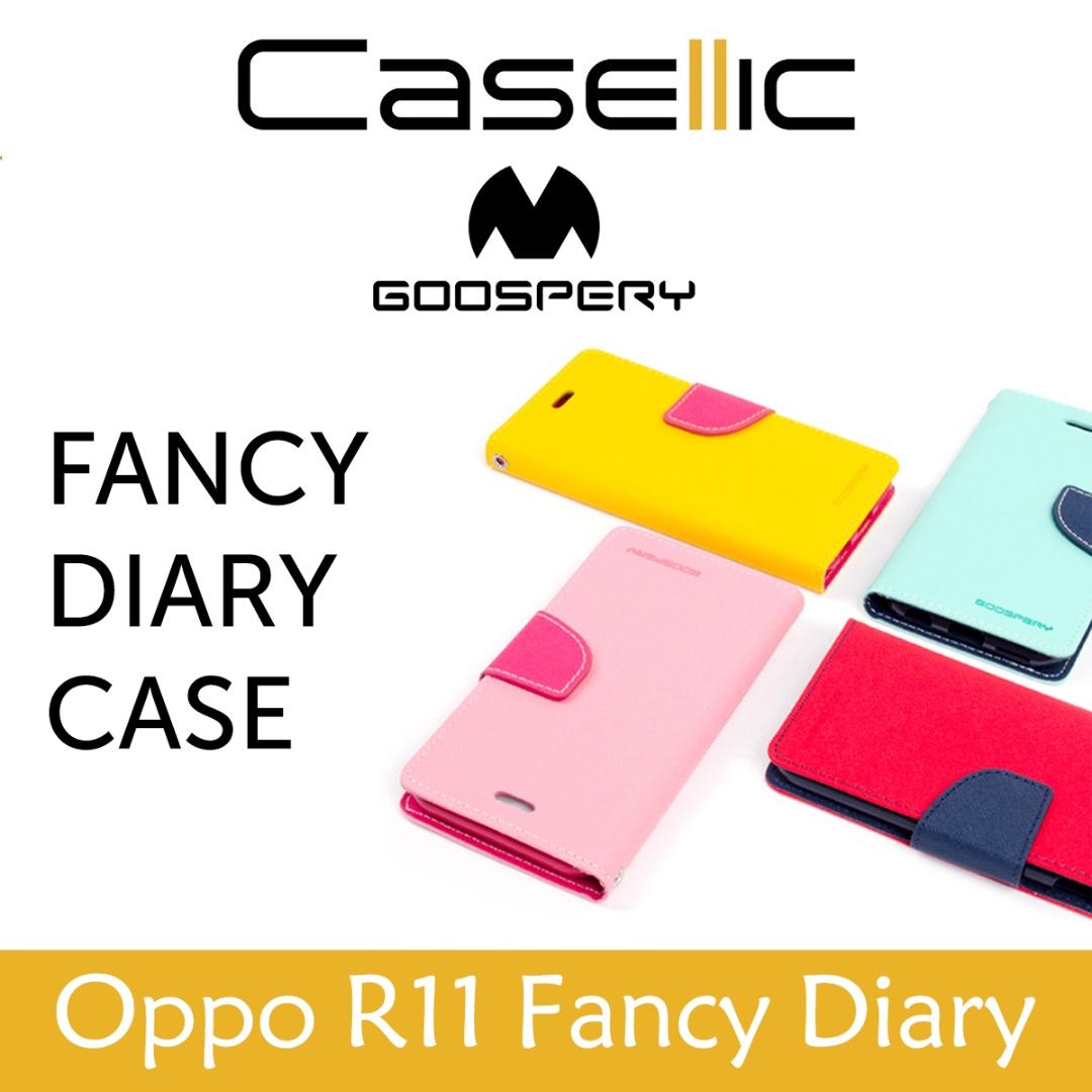 Mercury Goospery Fancy Diary For Xiaomi Redmi 2 Case Ungu Navy Note 4 4x Canvas Pink Jual Original