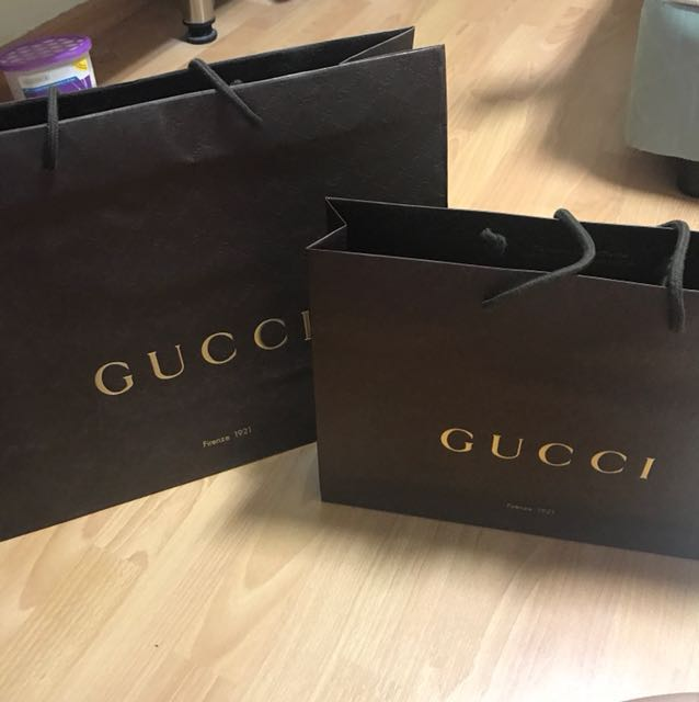 6d1d013a25b Gucci Paperbag (Big and Medium for  5)
