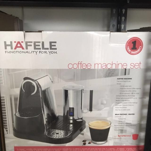 Hafele Coffee Machine Set