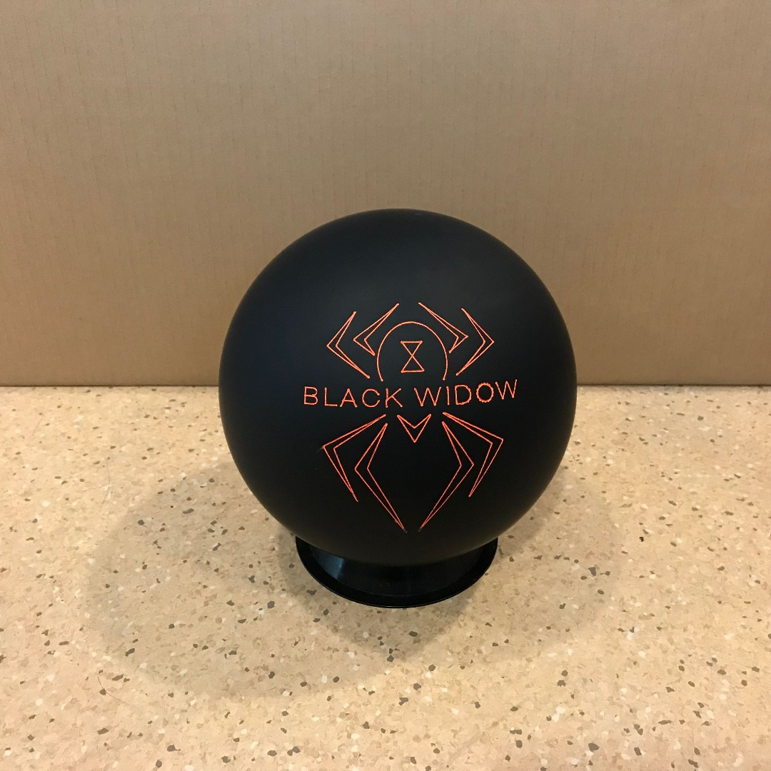Hammer Black Widow Urethane Bowling Ball Available Release
