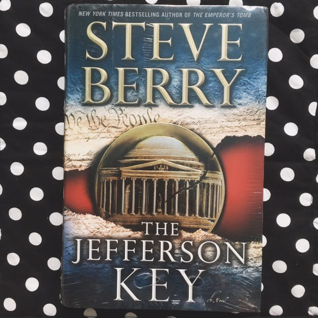 HARDBOUND: The Jefferson Key by Steve Berry