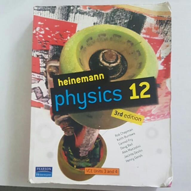 Heinemann Physics year 12 - units 3 and 4