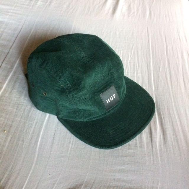 HUF Corduroy Snapback Cap