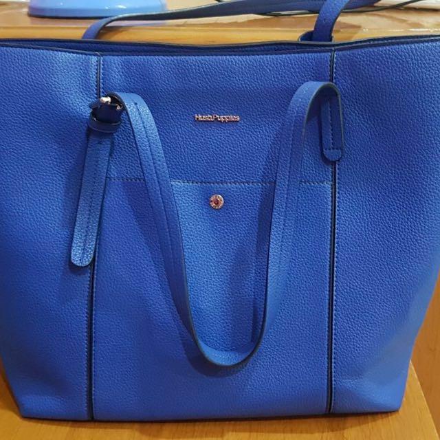 Hush Puppies Bag Blue Electric