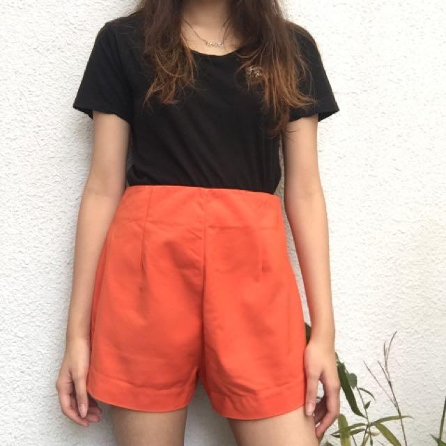 Hw orange shorts
