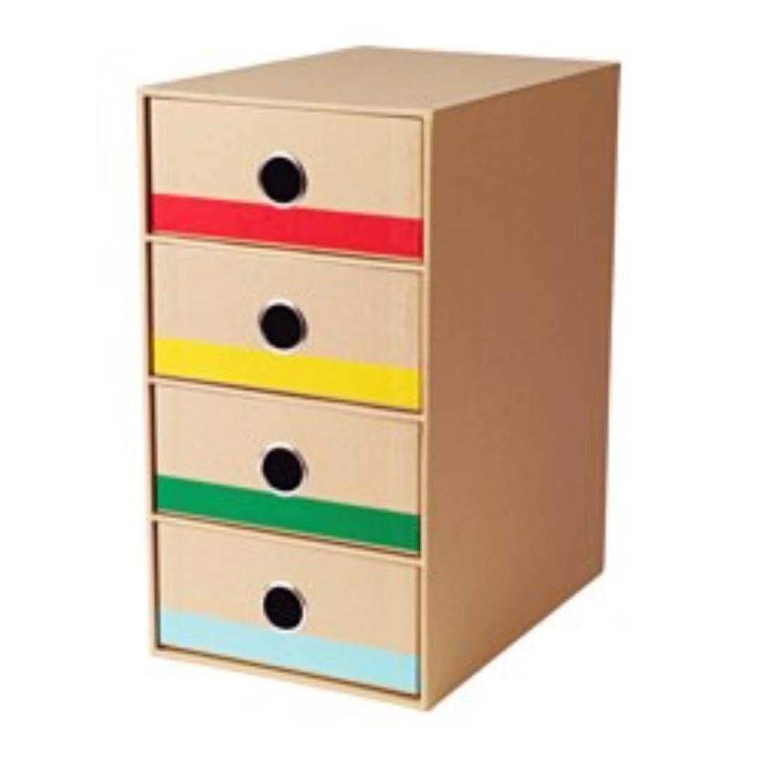 ikea lattfattlig mini chest 3 drawers books. Black Bedroom Furniture Sets. Home Design Ideas
