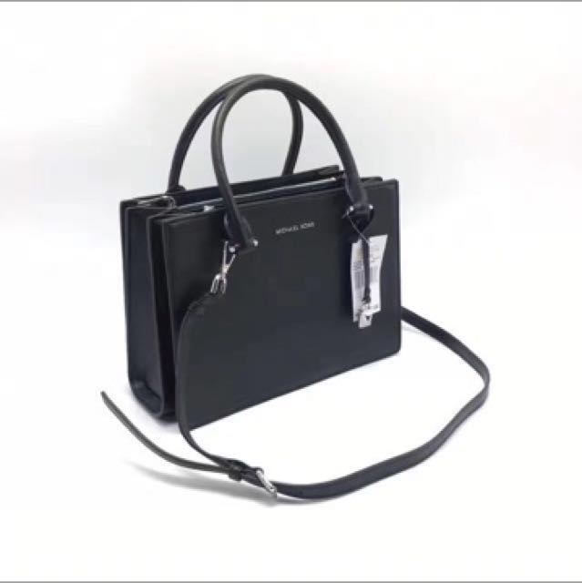 a2730f3abc10a In Stock  Michael Kors Sutton Black
