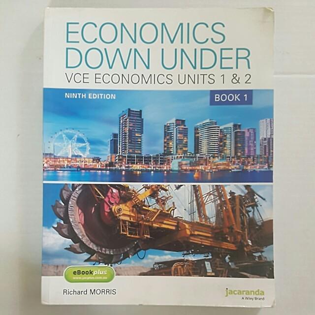 Jacaranda Economics Down Under - VCE Economics Units 1 and 2
