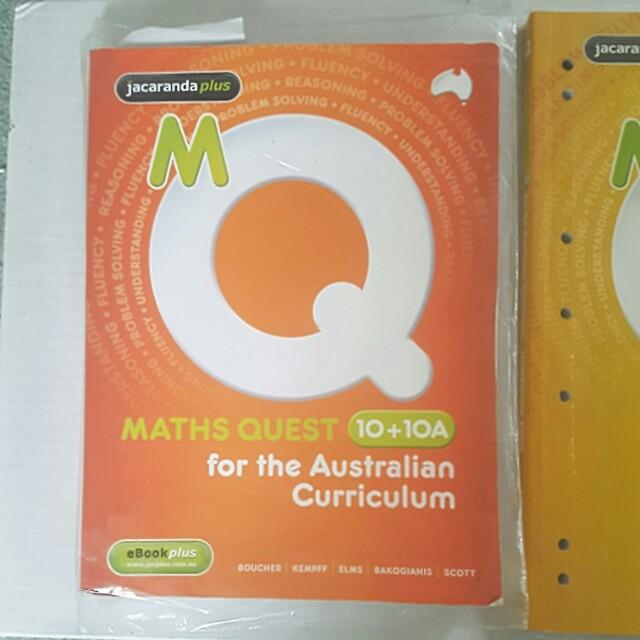 Jacaranda Maths Quest year 10