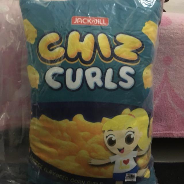 Jack 'n Jill Chiz Curls pillow