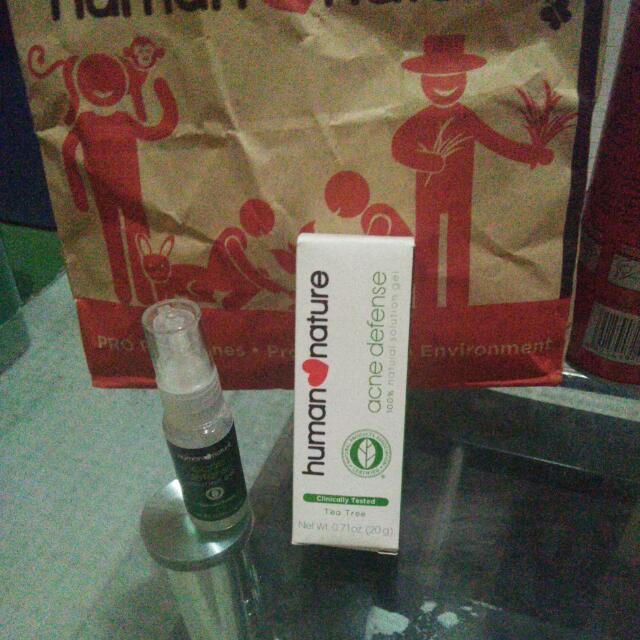 Less 10% Human nature acne Defense Solution Gel