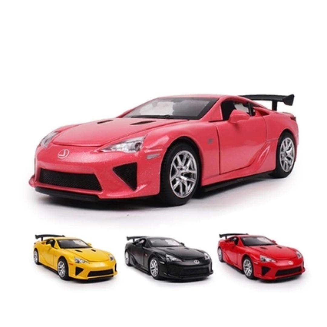 Lexus 雷克薩斯 LFA 淩志 聲光 迴力 黃色 磨砂黑 紅色 粉色 1:32 預購 阿米格Amigo