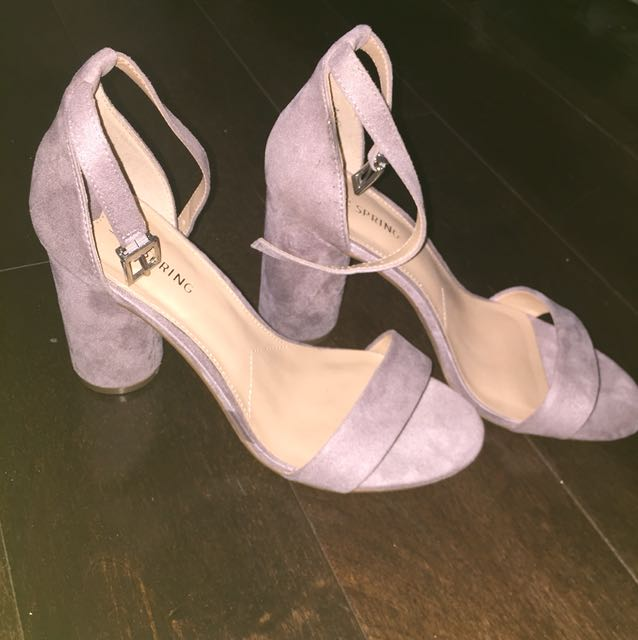 Lilac Spring Heels